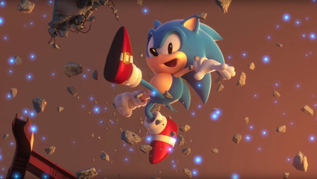 Sonic Forces screenshot from the cinematic trailer