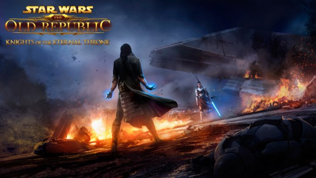 Star Wars: The Old Republic's Knights of the Eternal Throne official artwork