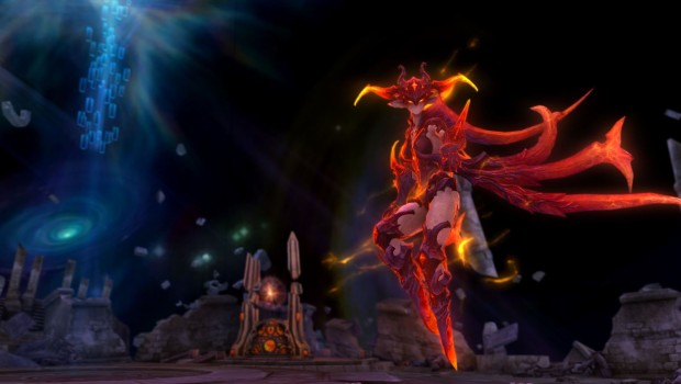 Aion's Lost Memories fire elemental boss