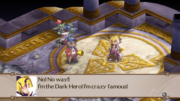 Dialogue from the PC version of Disgaea 2