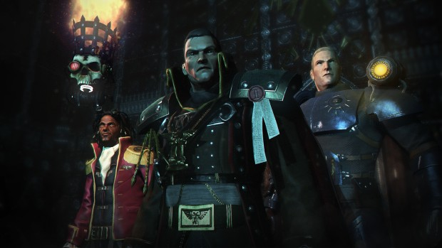 Eisenhorn and his trusty crew