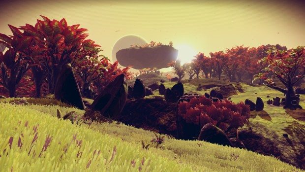 No Man's Sky's BigThings mod brings massive plants into the world