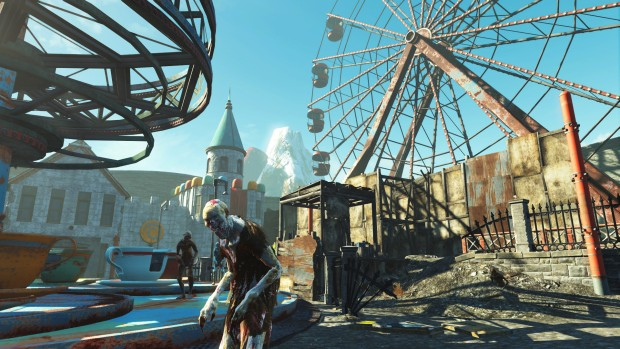 Nuka-World Fallout 4's zombies in a themepark