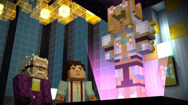 Minecraft: Story Mode Episode 8 diamond armor