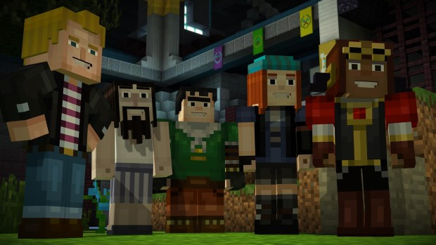 Minecraft: Story Mode Episode 8 gladiators