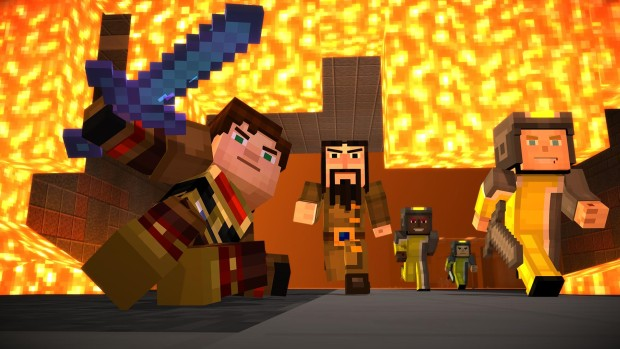 Minecraft: Story Mode Episode 8 - A Journey's End? promo screenshot