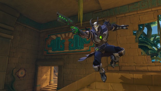 Paladins screenshot showcasing the sharpshooting class