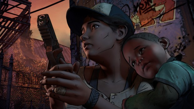 The Walking Dead Season 3 Clementine screenshot