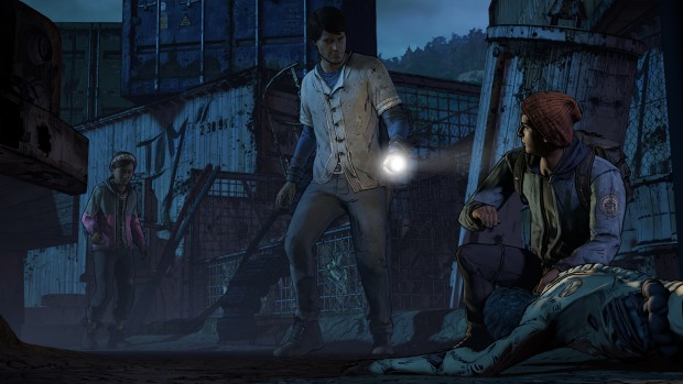 The Walking Dead Season 3 junkyard screenshot