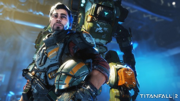 Titanfall 2 screenshot showcasing one of the main characters
