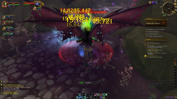 World of Warcraft Demon Hunter Eye Beam screenshot