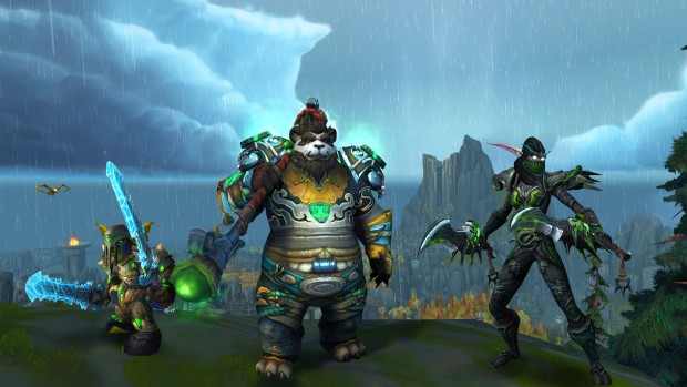 World of Warcraft: Legion multi-class screenshot