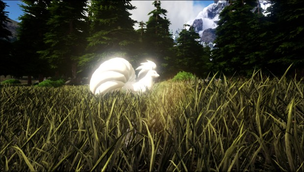 Ninetails from Ark: Survival Evolved's Pokomon Evolved mod