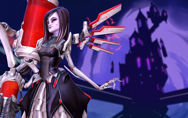 Artwork for Battleborn's 30th hero Beatrix