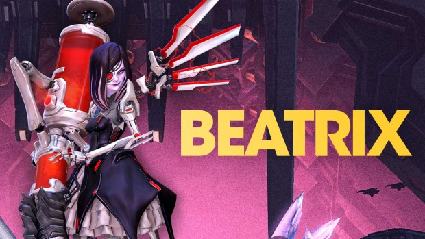 Battleborn's reveal image for Beatrix