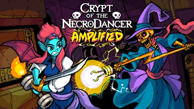 Crypt of the NecroDancer: Amplified official artwork cover
