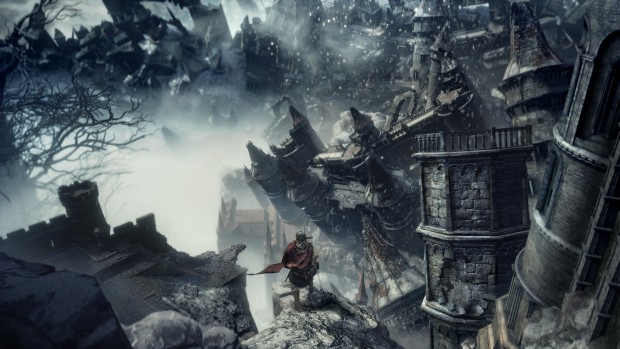 Dark Souls 3: The Ringed City ruined castle screenshot