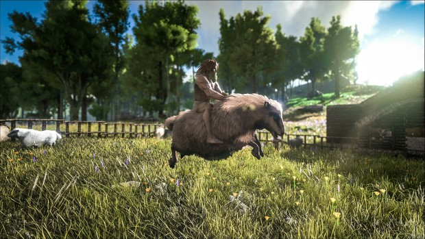Ark: Survival Evolved's Tek Tier update new sheep dinosaur