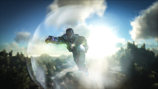 Ark: Survival Evolved's Tek Tier update jetpack