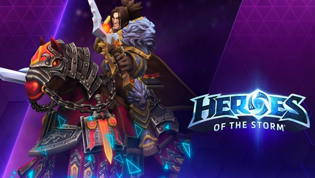 Heroes of the Storm Flames of Judgement Charger mount screenshot