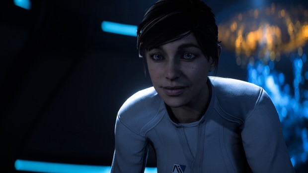 Mass Effect: Andromeda screenshot of the female Pathfinder