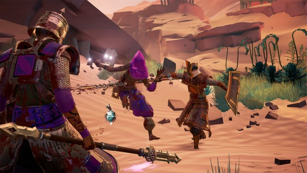 Mirage: Arcane Warfare screenshot featuring the Vigilist in battle