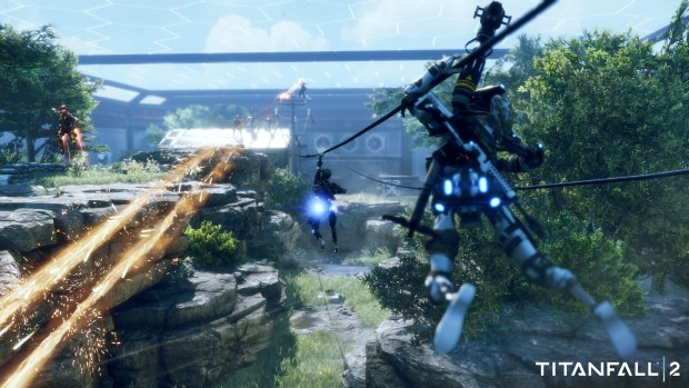 Screenshot from Titanfall 2's Live Fire game mode