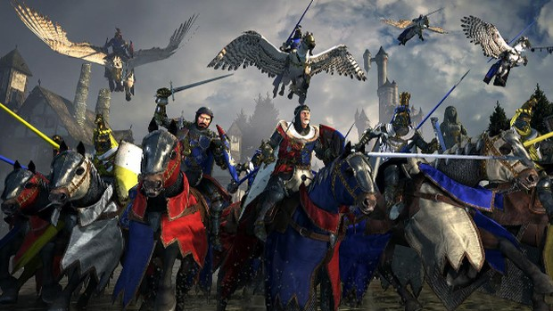 Total War: Warhammer's Bretonnia faction screenshot