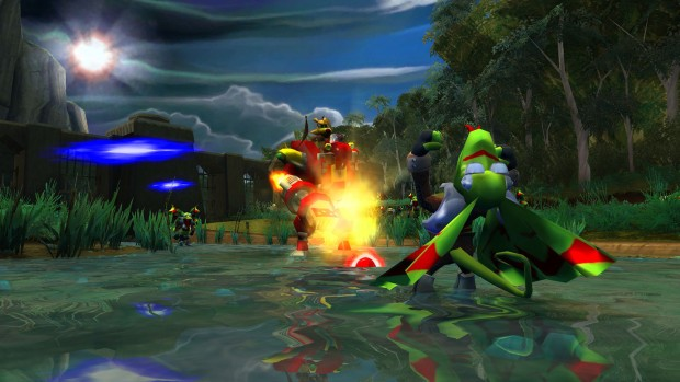 Ty the Tasmanian Tiger 2: Bush Rescue remaster screenshot featuring a mech