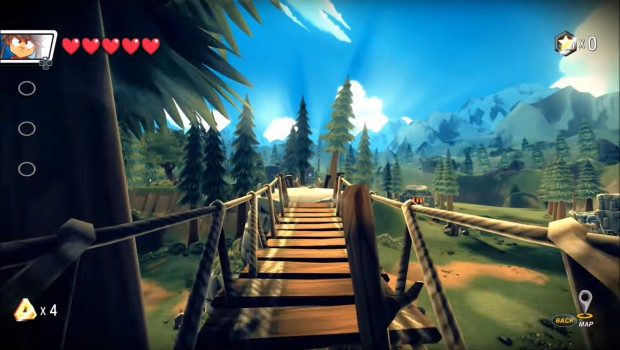 Away: Journey to the Unexpected screenshot of a cheerful forest path