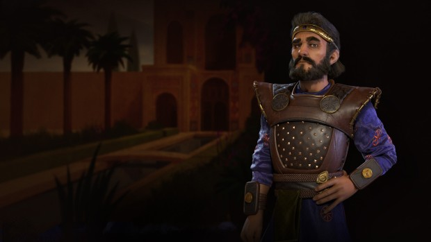 Cyrus the Great from Civilization 6's Persia faction