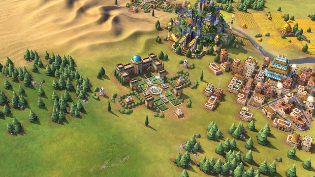 Civilization 6 Persian Gardens screenshot
