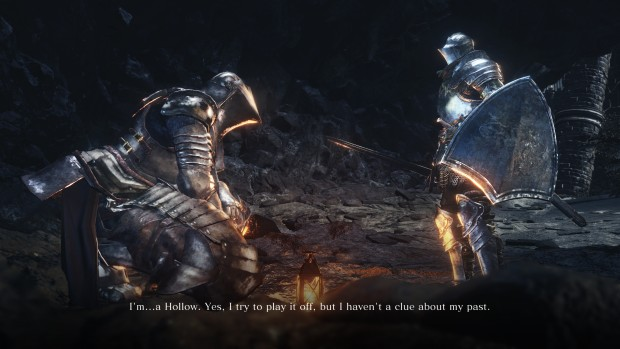 Dark Souls 3 screenshot of an NPC conversation in The Ringed City DLC