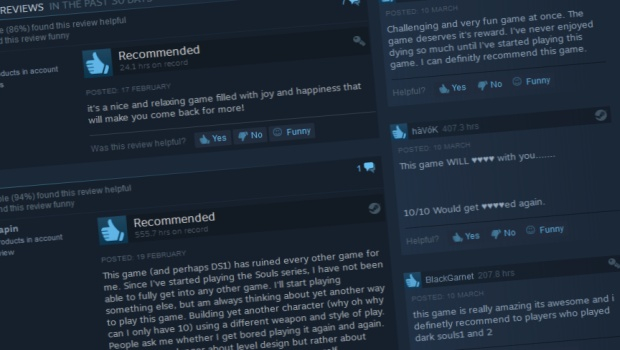 Dark Souls 3 Steam Reviews screenshot