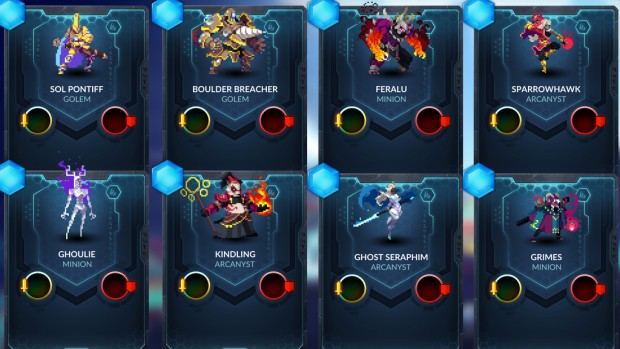 Duelyst cards from the Ancient Bonds expansion