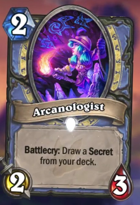 Hearthstone A Journey to Un'Goro Arcanologist
