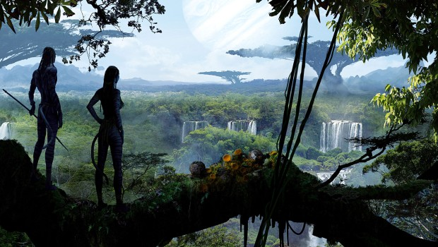 Official concept art from James Cameron's Avatar movie