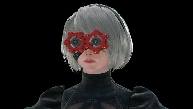 Nier: Automata Valve-themed cosmetic goggles