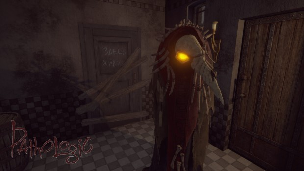 Pathologic screenshot of a strange, scarecrow looking man