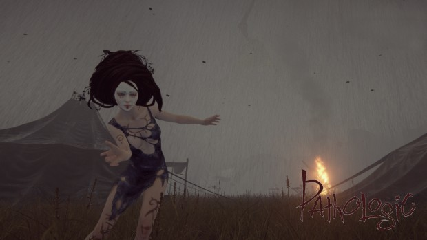 Pathologic screenshot showcasing a strange woman