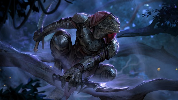 official artwork for The Elder Scrolls: Legends - The Fall of The Dark Brotherhood expansion
