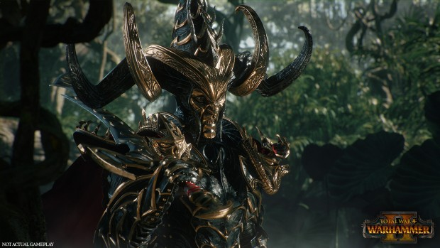 Total War: Warhammer Dark Elf screenshot from the cinematic trailer