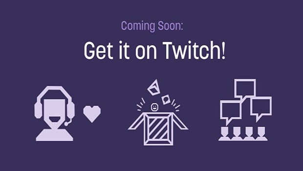 """Get it on Twitch"" official promo artwork"