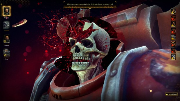 Warhammer 40k: Space Wolf screenshot of the sniper kill cam