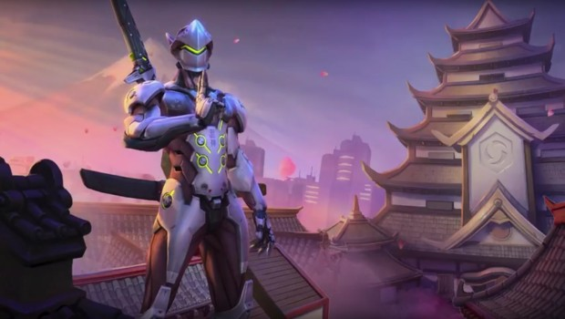 Heroes of the Storm's take on Overwatch's Genji