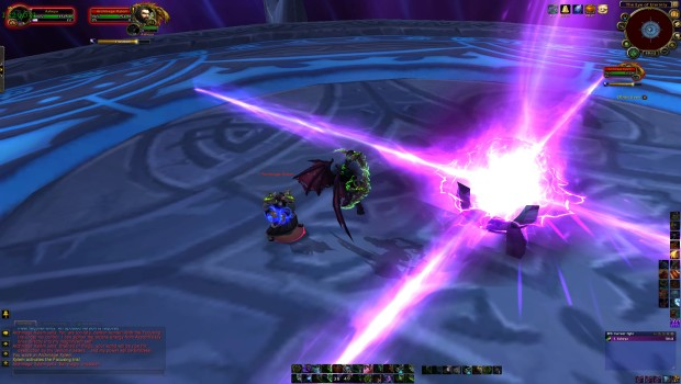 Closing the Eye Mage Tower Challenge positioning Archmage Xylem