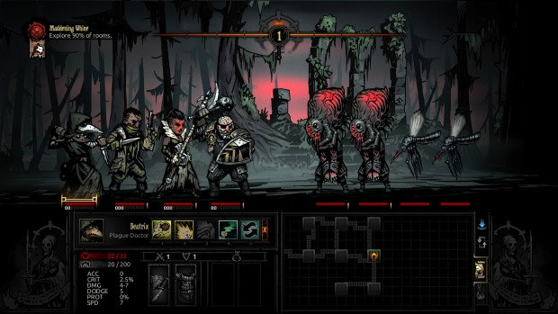 New enemies for Darkest Dungeon's The Crimson Court expansion