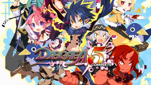 Disgaea 5 Complete official box artwork