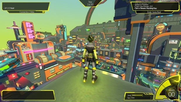 Hover : Revolt Of Gamers screenshot of the map at large
