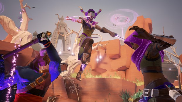 Mirage: Arcane Warfare screenshot of the Vypress hero in combat